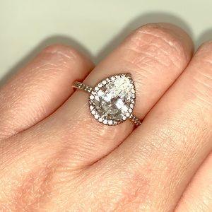 Pandora pear shaped ring